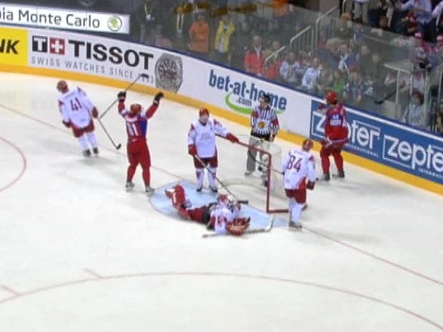Сборная России по хоккею выиграла у датчан