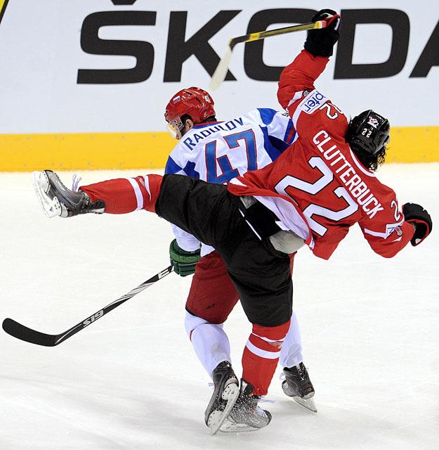 Сборная россии по хоккею вышла в